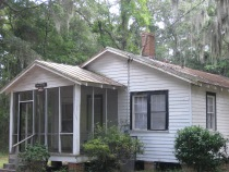 MLK's cottage on the campus