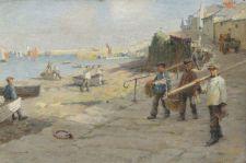 1024px-Harold_Harvey_The_Old_Slip_Newlyn_1908