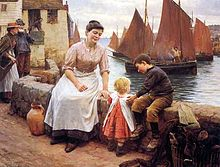 220px-Walter_Langley_-_The_Greeting_1904