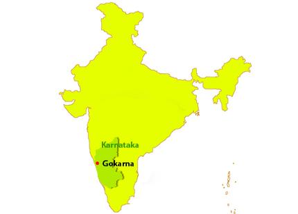 gokarna map